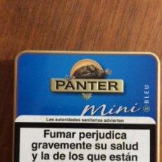 Cajas de Puros: CAJA MINI PUROS PANTER BLEU. Lote 152182150