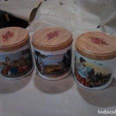 Cajas de Puros: LATAS DE TABACO FARIAS DIFERENTES NUEVAS.. Lote 152226622