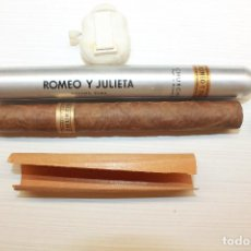 Cajas de Puros: PURO ROMEO Y JULIETA, CHURCHILL, TUBULAR. Lote 152285394