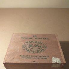 Cajas de Puros: CAJA PUROS DE MADERA LA PAZ (PRIMEROS). Lote 152956300