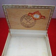 Cajas de Puros: CAJA DE PUROS LA CORONA HABANOS. Lote 153361012