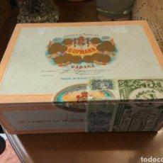 Cajas de Puros: CAJA PUROS HABANOS HUPMAN 25 CORONAS. Lote 153543364