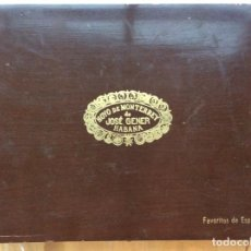 Cajas de Puros: HOYO DE MONTERREY DE JOSÉ GENER , CAJA DE PUROS . LA HABANA. Lote 153702498