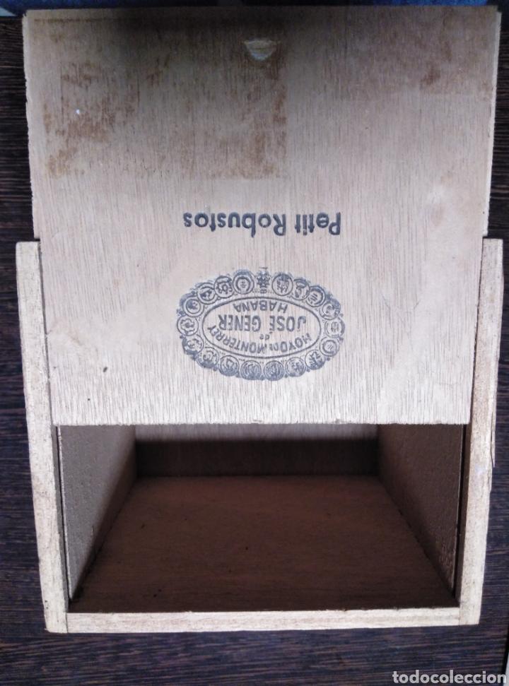 Cajas de Puros: Caja de puros vacia JOSÉ GENER-PETIT ROBUSTOS - Foto 2 - 153872045