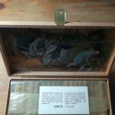 Cajas de Puros: ANTIGUA CAJA PUROS SUPER CIGARRILLOS LION'S QUALITY . Lote 154009998