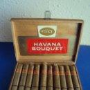 Cajas de Puros: (TA-190302) CAJA COMPLETA 20 HAVANA BOUQUET. Lote 154113558