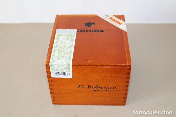 CAJA DE PUROS HABANOS: COHIBA 25 ROBUSTOS (HABANA, CUBA) - SIN ABRIR, PRECINTADA. (Coleccionismo - Objetos para Fumar - Cajas de Puros)