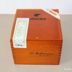 Cajas de Puros: CAJA DE PUROS HABANOS: COHIBA 25 ROBUSTOS (HABANA, CUBA) - SIN ABRIR, PRECINTADA.. Lote 154173174