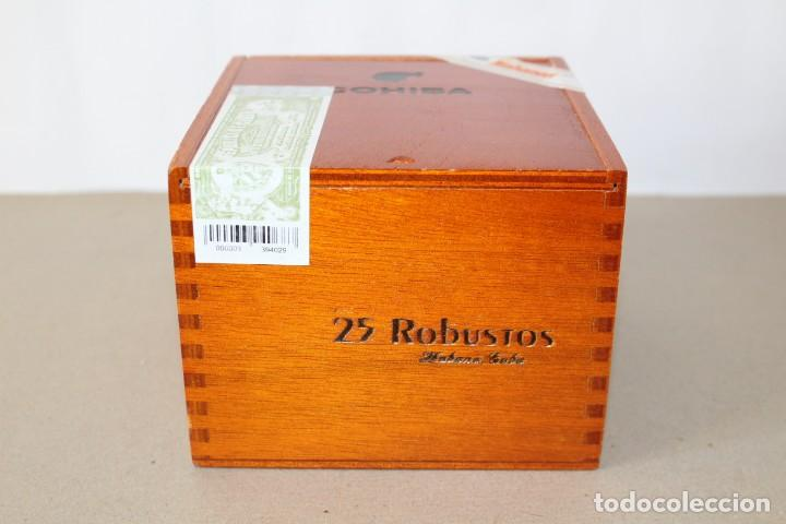 Cajas de Puros: CAJA DE PUROS HABANOS: COHIBA 25 ROBUSTOS (HABANA, CUBA) - SIN ABRIR, PRECINTADA. - Foto 2 - 154173174