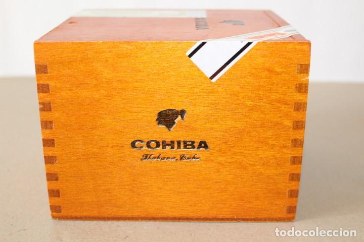 Cajas de Puros: CAJA DE PUROS HABANOS: COHIBA 25 ROBUSTOS (HABANA, CUBA) - SIN ABRIR, PRECINTADA. - Foto 3 - 154173174