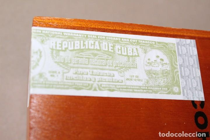 Cajas de Puros: CAJA DE PUROS HABANOS: COHIBA 25 ROBUSTOS (HABANA, CUBA) - SIN ABRIR, PRECINTADA. - Foto 7 - 154173174