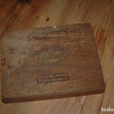 Cajas de Puros: CAJA DE PUROS - VACIA - CECILIA - TABACALERA VERACRUZANA MEXICO - 27X20X5. Lote 154504750