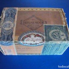 Cajas de Puros: (TA-190312)CAJA FABRICA DE TABACOS EL TRIUNFADOR - CIENFUEGOS - HABANA - CUBA. Lote 155225806