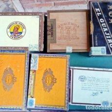 Cajas de Puros: LOTE DE CAJAS DE PUROS. Lote 155352206