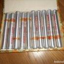 Cajas de Puros: ANTIGUA CAJA PUROS ROMEO Y JULIETA 10 ROMEOS TUBOS DE ALUMINIO CAJA NO PRECINTADA NUEVA. Lote 155400618