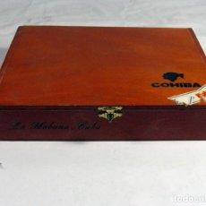 Cajas de Puros: CAJA DE PUROS COHIBA ESPLENDIDOS. VACIA. HABANA. CUBA. Lote 155577518