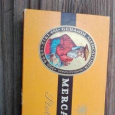Cajas de Puros: CAJA DE PUROS VACIA MERCATOR. Lote 156626137