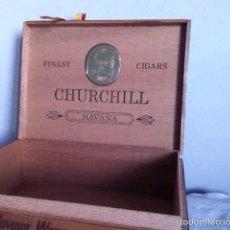 Cajas de Puros: CAJA PUROS. CHURCHILL. HAVANA. Lote 156643364