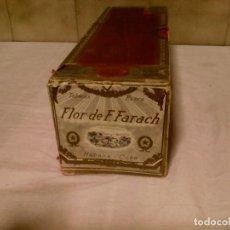 Cajas de Puros: CAJA DE PUROS FLOR DE F. FARACH. Lote 156765926