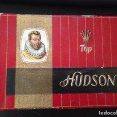 Cajas de Puros: ANTIGUA CAJA DE PUROS ALEMANA TOP HUDSON VACIA. Lote 157933734