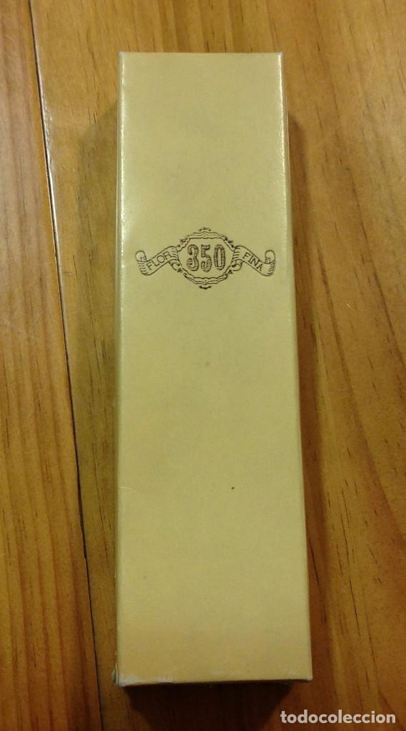 Cajas de Puros: Caja de puros, funda de cuero, para dos puros, impecable + caja metálica con puro Gran Corona - Foto 4 - 158617106