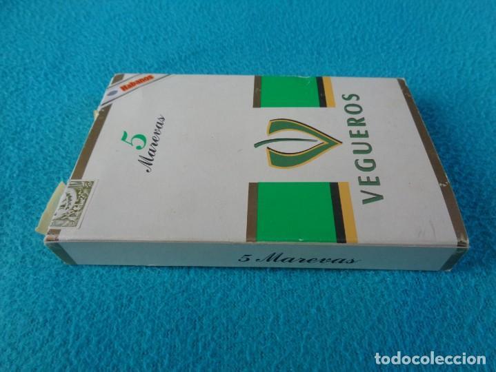 Cajas de Puros: Caja de puros pack de 5 marevas VEGUEROS - habana cuba - Foto 3 - 158792302