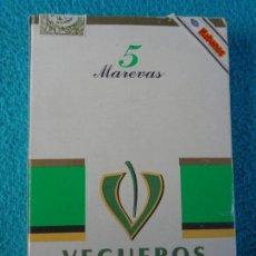 Cajas de Puros: CAJA DE PUROS PACK DE 5 MAREVAS VEGUEROS - HABANA CUBA. Lote 158792302