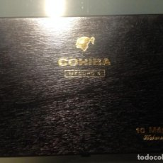 Cajas de Puros: COHIBA - MADURO 5 - 10 MAGICOS - HABANA , CUBA - VACIA. Lote 158857906