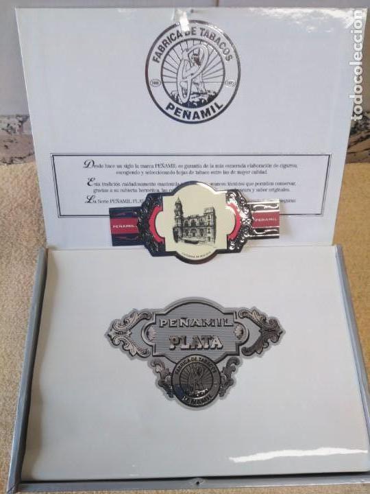 Cajas de Puros: Caja 25 puros Peñamil Plata - Foto 4 - 158985638