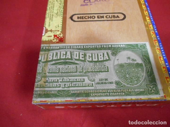 Cajas de Puros: CAJA DE PUROS DE MADERA - PARTAGAS FABRICA DE CIGARROS -25 HABANEROS - LA HABANA CUBA - - Foto 3 - 159416522