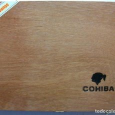 Cajas de Puros: CAJA DE MADERA DE PUROS HABANOS COHIBA 25 ESPLENDIDOS CUBA (VACIA). Lote 160131730