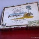 Cajas de Puros: QUINTERO Y HNO. CAJA VACÍA. 25 LONDRES EXTRA.. Lote 160367364
