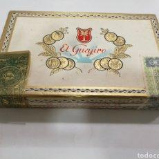 Cajas de Puros: CAJA DE PUROS VACIA EL GUAJIRO. Lote 160693708