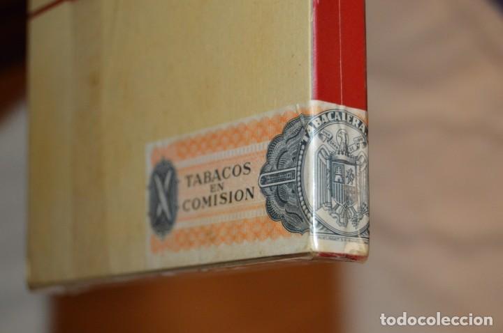 Cajas de Puros: De colección - PRECINTADA - ANTIGUA - VINTAGE - CAJA DE 10 PUROS RECORD XXX - CANARIAS - ENVÍO 24H - Foto 4 - 160883362