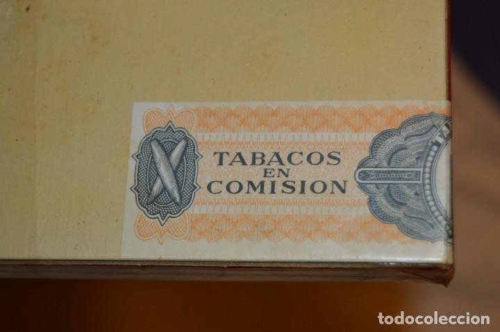 Cajas de Puros: De colección - PRECINTADA - ANTIGUA - VINTAGE - CAJA DE 10 PUROS RECORD XXX - CANARIAS - ENVÍO 24H - Foto 5 - 160883362