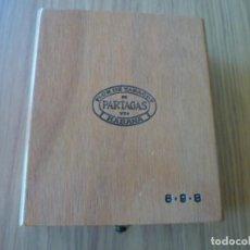 Cajas de Puros: CAJA MADERA DE PUROS PARTAGAS 8-9-8.. Lote 161540606