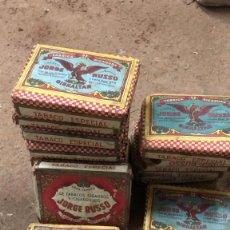 Cajas de Puros: PAQUETE TABACO JORGE RUSSO, PICADURA TABACO ESPECIAL GIBRALTAR.. Lote 254564890