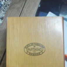 Cajas de Puros: CAJA VACIA PUROS HABANOS PARTAGAS CUBA. Lote 161696098