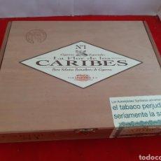 Cajas de Puros: CAJA COMPLETA DE PURO LA FLOR DE LOS CARIBES NÚMERO 1. Lote 161916981