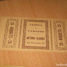 Cajas de Puros: CARTON PARA CAJAS DE PUROS. Lote 161965326