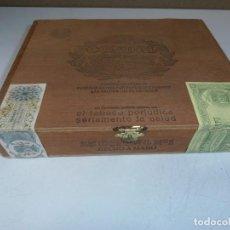 Cajas de Puros: CAJA DE PUROS CONDAL. Nº 1. HECHO A MANO. 25 PUROS. MADERA. VER FOTOS.. Lote 162185002