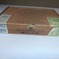 Cajas de Puros: CAJA DE PUROS CONDAL. Nº 4. 25 PUROS. HECHO A MANO. MADERA. VER FOTOS.. Lote 162191190