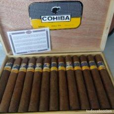 Cajas de Puros: CAJA COMPLETA 25 COHIBA PIRÁMIDES HABANOS HABANA CUBA. Lote 162453026