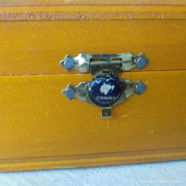 Cajas de Puros: Caja completa 25 cohiba pirámides habanos Habana Cuba - Foto 6 - 162453026