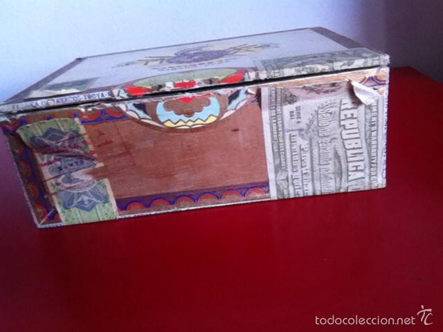 Cajas de Puros: CAJA PUROS. TROYA -25 Corona Club- VACÍA - Foto 2 - 162453466