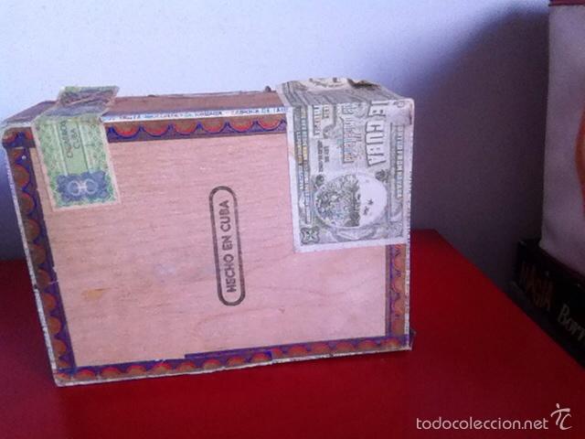 Cajas de Puros: CAJA PUROS. TROYA -25 Corona Club- VACÍA - Foto 6 - 162453466
