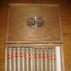 Cajas de Puros: (TC-209/19) CAJA PUROS LA FAMA 25 GRAN FAMA CON 18 PUROS. Lote 176797953