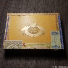 Cajas de Puros: PARTAGAS VACIA - 25 LONDRES EXTRA HABANA. Lote 163803489