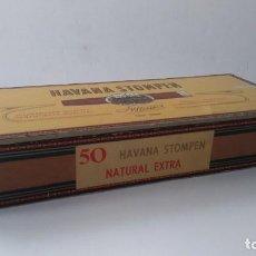 Cajas de Puros: CAJA DE PUROS HABANA STOMPEN. Lote 163978070