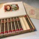 Cajas de Puros: CAJA DE PUROS CIFUENTES HABANA 8 CRISTAL TUBOS. Lote 164280058